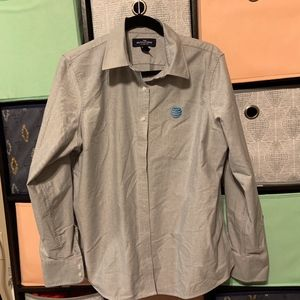 Lands End' AT&T Button Up Large